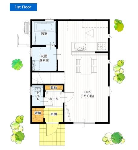 i-passoの家 24坪 3LDK 新築プラン 価格と間取り