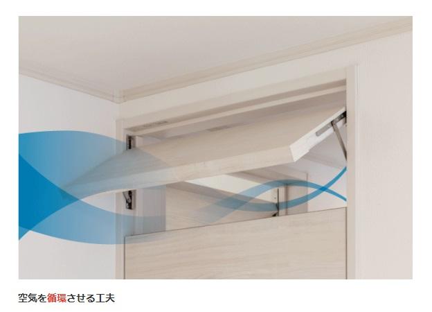 アイダ設計 公式サイト ブラーボゼネクト 空気を循環させる工夫