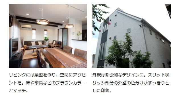 アキュラホーム モダンデザインと収納にこだわった二世帯住宅。こだわりの外観