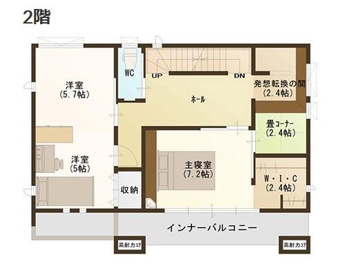 アイフルホーム モデルハウス 間取り例