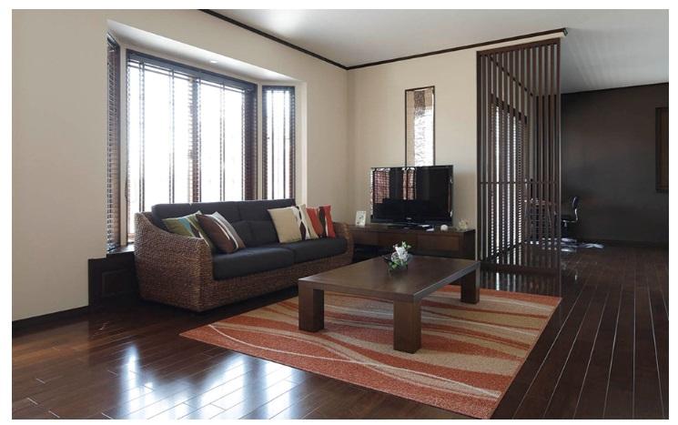一条工務店 公式サイト 建築実例 癒しの空間で毎日リラックス。バリのリゾートのような平屋。インテリア