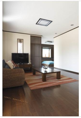 一条工務店 公式サイト 建築実例 癒しの空間で毎日リラックス。バリのリゾートのような平屋。寝室とLDK