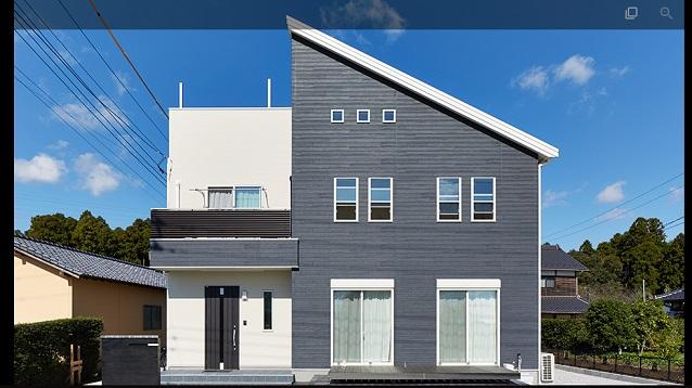 桧家住宅 スマートワン 外壁事例