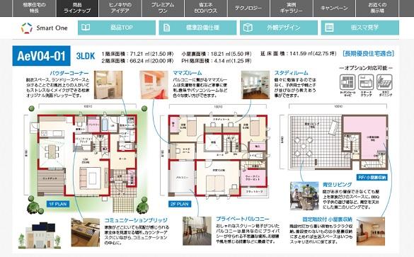 桧家住宅 オールインワンプラン  モデルプラン