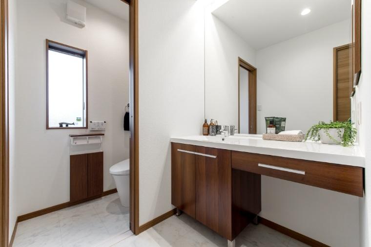 桧家住宅 フォトギャラリー トイレの実例