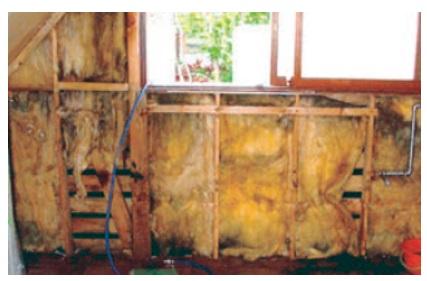 一条工務店 公式サイト カビてしまった断熱材の例