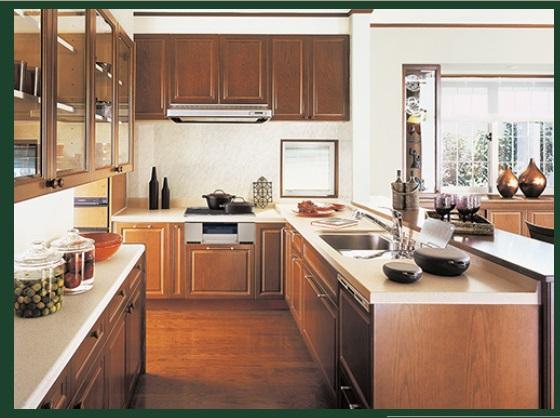 一条工務店 公式サイト セゾン デザインギャラリー キッチン