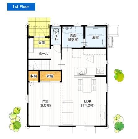 I-passoの家 公式サイト 30坪 4LDK 新築プラン 価格と間取り