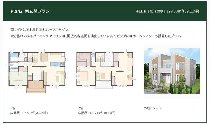 一条工務店 公式サイト アイ・キューブ 間取りプラン Plan2 南玄関プラン
