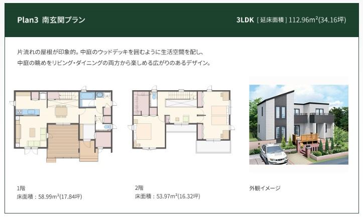 一条工務店 公式サイト アイ・キューブ 間取りプラン Plan3南玄関プラン