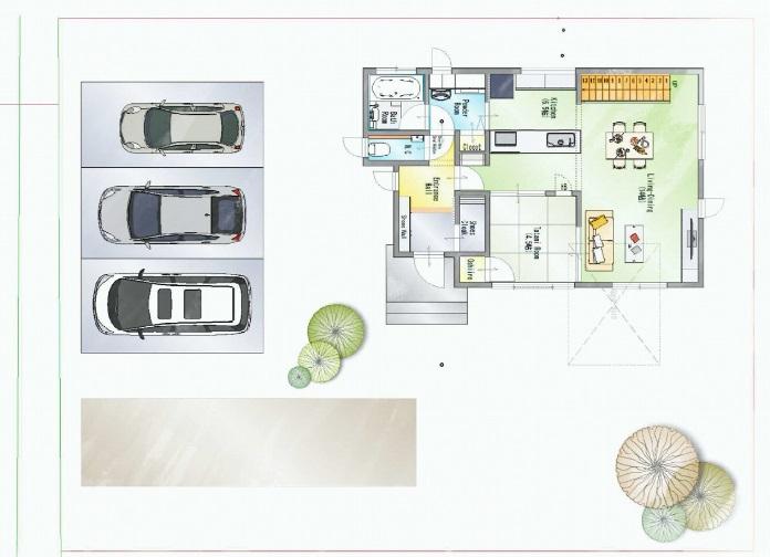 一条工務店群馬 公式サイト LIFE STYLE 二階建てのラク家事 case3