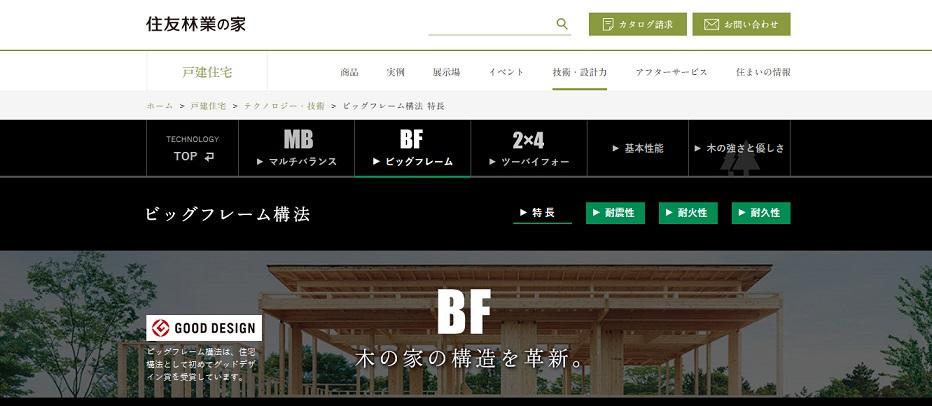 住友林業の家 公式サイト ビッグフレーム構造の家
