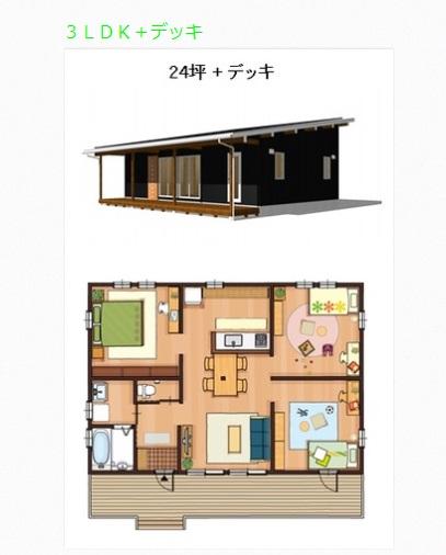 鈴木良工務店 BinO FREEQ COVACO 3LDKの事例